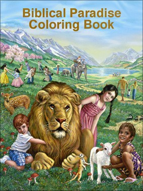 Biblical Paradise Coloring Book MJC