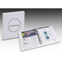 Our Christian Life and Ministry Workbook Binder (White)