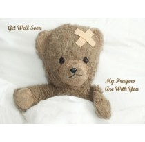 Get Well Soon My Prayers Are With You