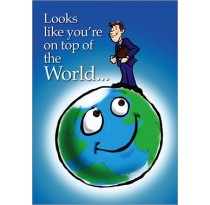 Looks like you're on top of the World...