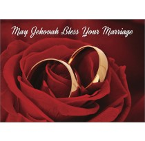 May Jehovah Bless Your Marriage
