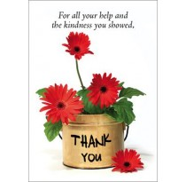 For all your help and the kindness you showed, Thank you