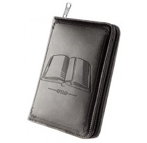 Bible Teach Book Bonded Leather Cover (Charcoal/Brown)
