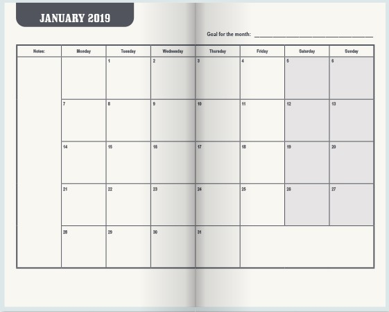 2019 Pocket Appointment Calendar