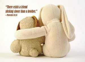 There exists a friend...