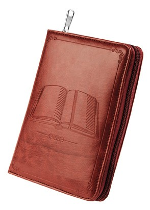 Bible Teach Book Bonded Leather Cover (Burgundy)