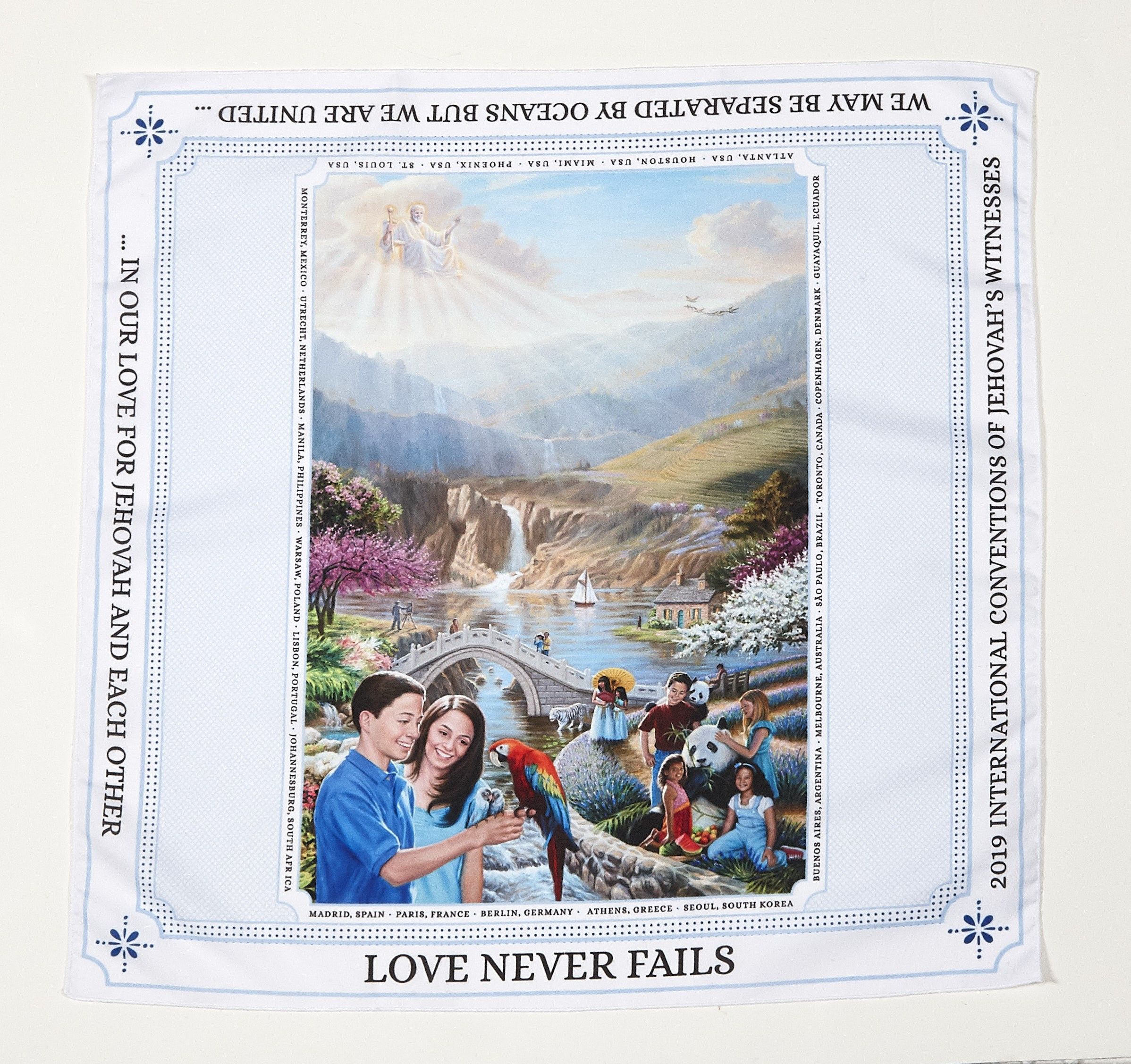 2019 International Convention Bandana (NO DISCOUNT ON THIS ITEM)