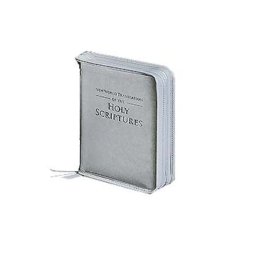 Pocket Size Clear Zippered Bible Cover 989030P