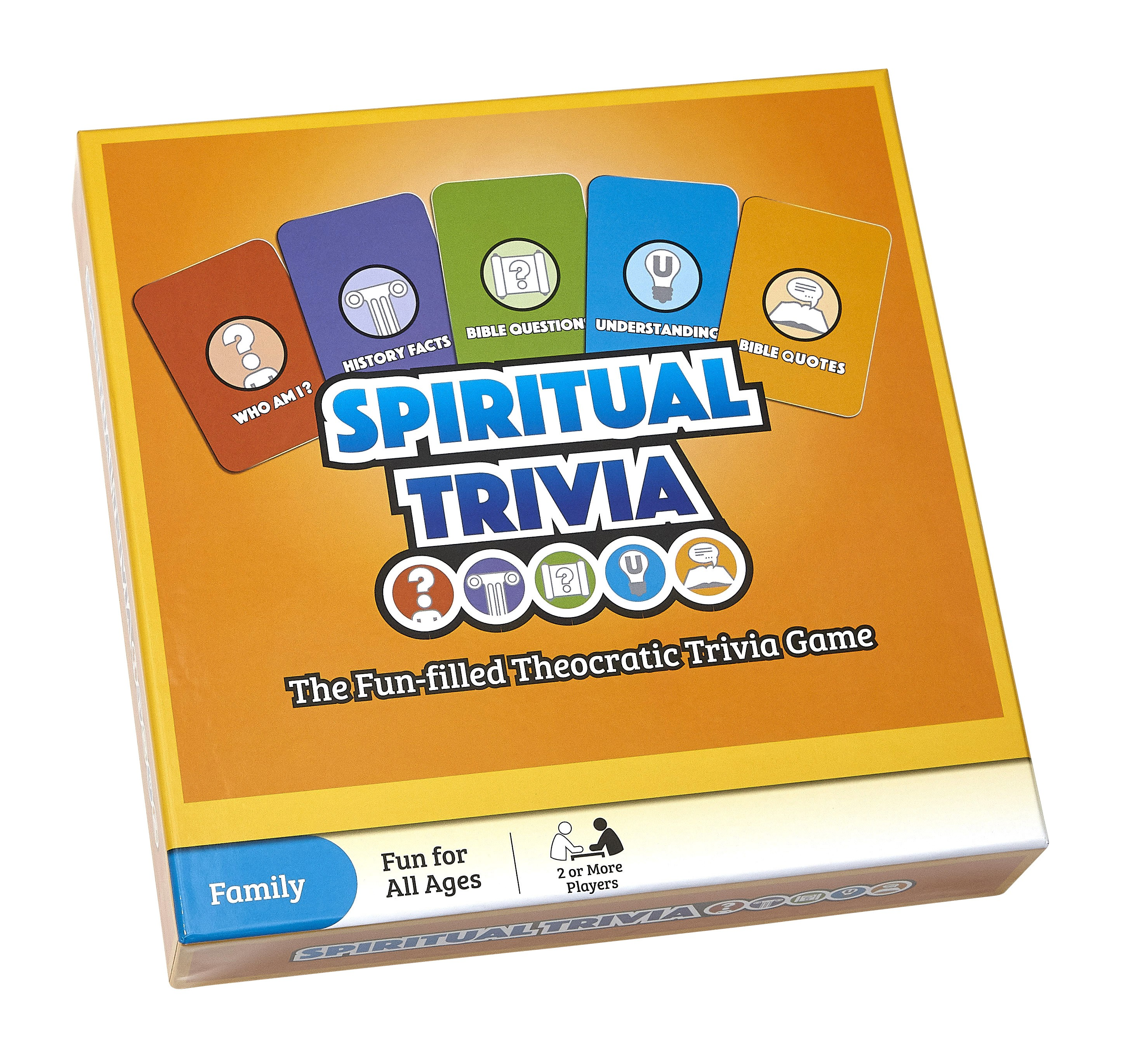 Spiritual Trivia Board Game (English)