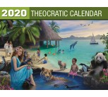 2020 Theocratic Wall Calendar (English)