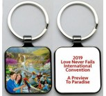 (ENGLISH)    International Convention Keychain (NO DISCOUNT ON THIS ITEM)