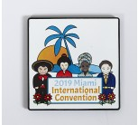 2019 Miami International Convention Pin (NO DISCOUNT ON THIS ITEM)
