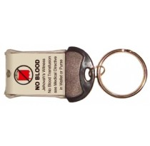 Medical Alert Flashlight Keychain (English)