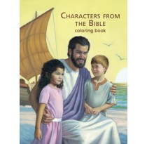Characters from the Bible Coloring Book (English)