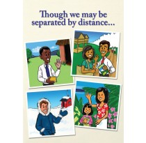Though we may be separated by distance...