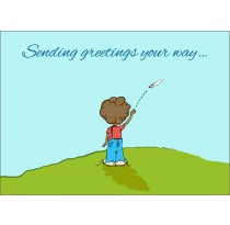 Sending greetings your way... (Thinking of You)