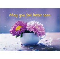 May you feel better soon