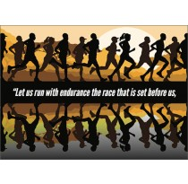 Let us run with endurance...