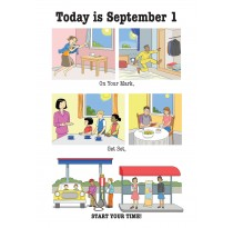 Today is September 1. On Your Mark, Get Set, START YOUR TIME!