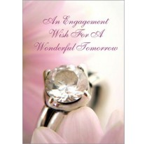 An Engagement Wish For A Wonderful Tomorrow