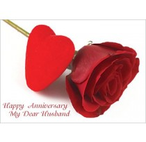 Happy Anniversary My Dear Husband.