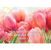 """""""May Jehovah reward you for what you have done"""" Ruth 2:12"""