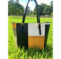 Multi-Color Tote Bag (Golden Yellow)