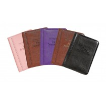 Regular Size Bonded Leather Bible Cover (English)