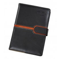 My Spiritual Notebook Black With Brown Strip