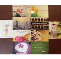 Encouragement Greeting Card (Set of 10)